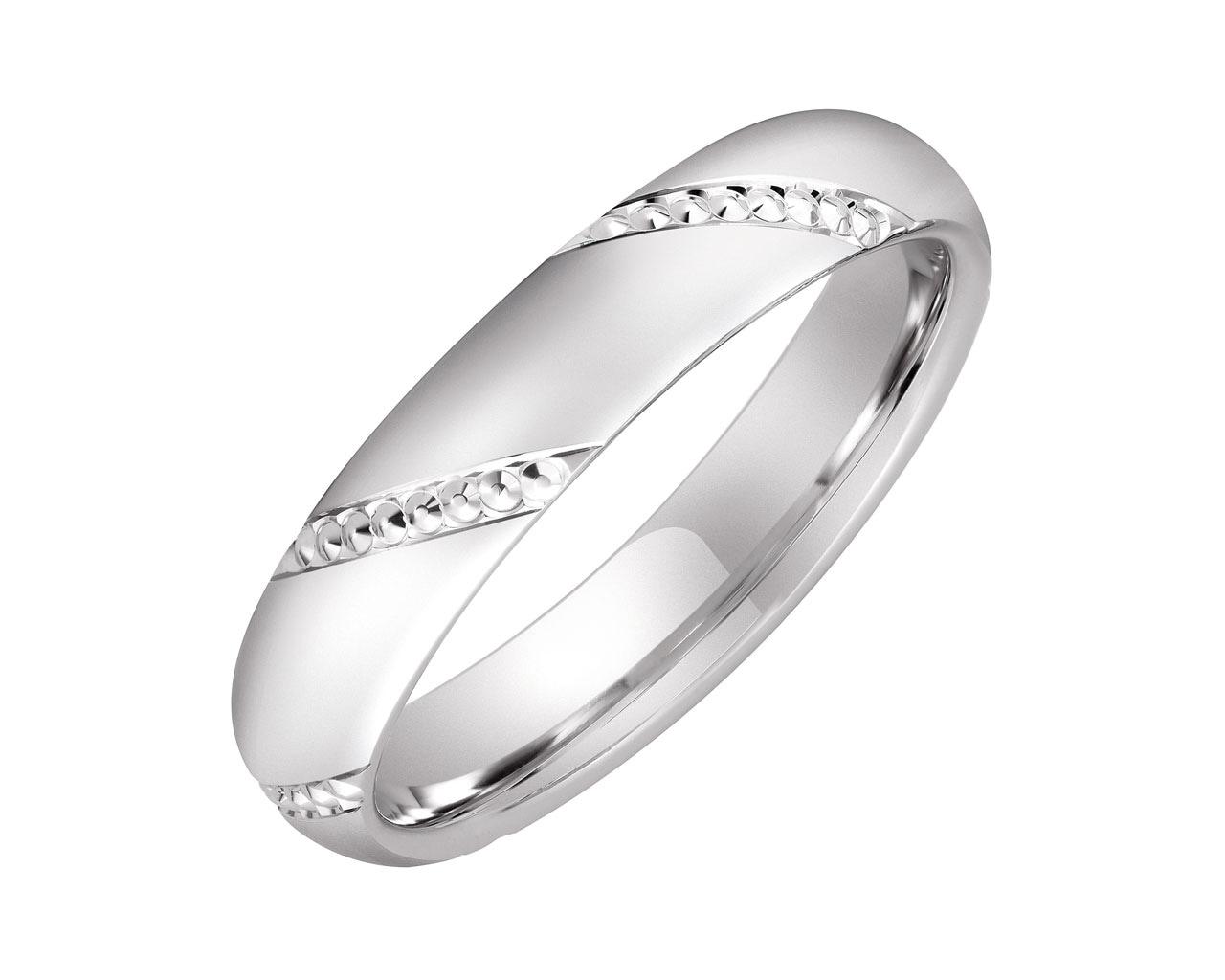 cfc4ad0244 Obrączka srebrna