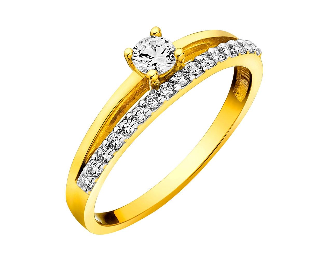 af4d679323f04a Złoty pierścionek - wzór P-996.01 / Apart