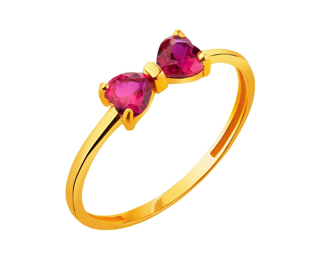 cc63025ea6d00d Złoty pierścionek - wzór AP127-9179 / Apart