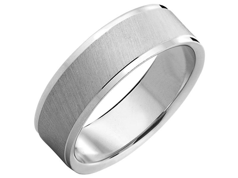 7e4010615a Obrączka srebrna. 79 zł. Wzór  LUX05