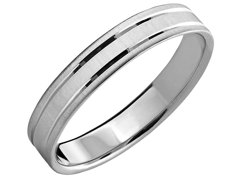 24a357a429 Obrączka srebrna. 139 zł. Wzór  LUX04