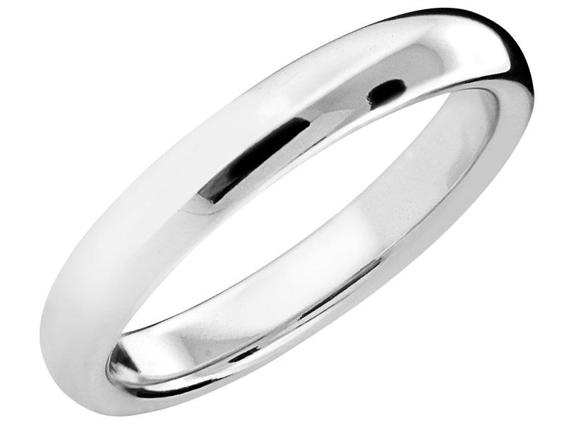 a205b31f76a43e Obrączka srebrna - wzór LUX19 / Apart
