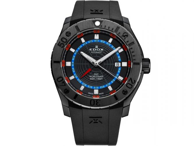 Edox Chronoffshore-1 GMT Worldtimer