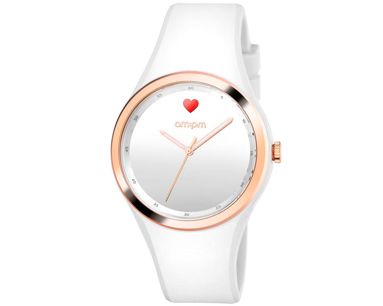 zegarek am pm biały damski