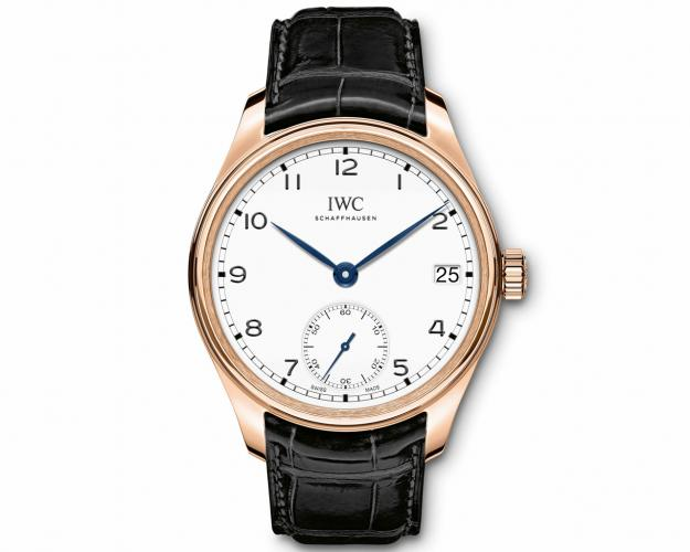 "IWC Schaffhausen Portugieser Hand Wound Eight Days Edition ""150 Years"""